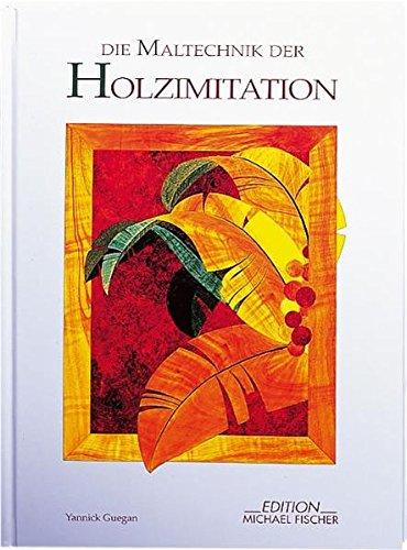 Die Maltechnik der Holzimitation (Dekorative Malerei) (Schablone Roller)