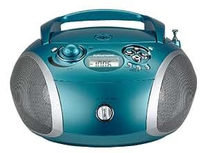 Grundig 1445 Radio CD USB Mp3, Argento