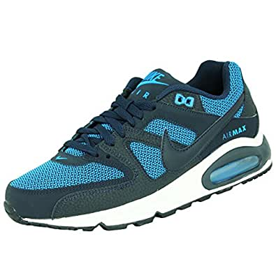 nike air max command herren schuhe sneaker leder blau blau. Black Bedroom Furniture Sets. Home Design Ideas