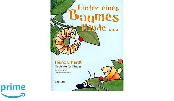 Hinter Eines Baumes Rinde Gedichte Für Kinder Amazon