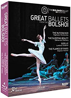 Great Ballets from the Bolshoi [Blu-ray] by Tchaikovsky (B00O3MZTQG) | Amazon Products
