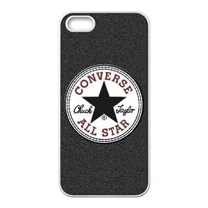 Custom Wonderland Converse All Star TPU RUBBER Case for Apple iPhone 5