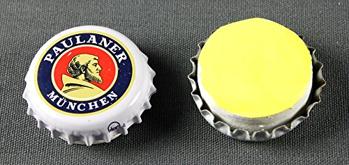 5-stuck-kronkorken-magnetpin-paulaner-munchen-extra-starker-neodym-magnet-bier-brauerei