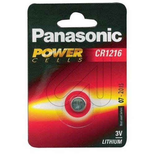 Panasonic Batterie Lithium cr1216l/1Bp