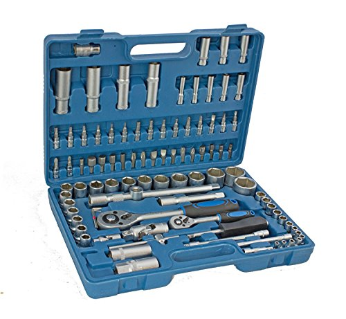 Steckschlüssel Satz Ratschenkasten Nusskasten Werkzeug Koffer Set Nüsse (94tlgN)