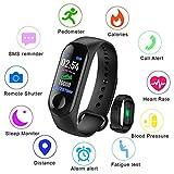 LIGE Smart Fitness Tracker,0.96 pulgadas Pantalla de color,con monitor de ritmo cardíaco Pulsera inteligente,impermeable IP67 Pulsera deportiva Podómetro,Contador de calorías,Monitor de sueño,Hombres, mujeres, niños Pulsera deportiva