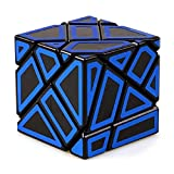 JIAAE 3X3 Alotipo Cubo De Rubik De Alta Dificultad Inteligencia Hueco Rubik Niños Rompecabezas De Juguete,Blue