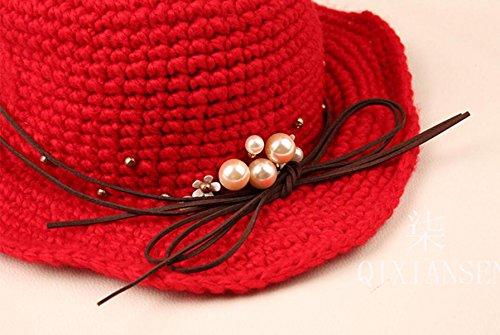 Bonnet De Bonneterie En Laine De Coton Pour Femme Black
