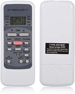 R51m E Fernbedienung Ersatz Für Midea Klimaanlage Elektronik