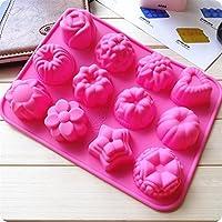 fertigen vous DIY Formes en caoutchouc Pâte à gâteaux, le fondant de forme type de 3décoré