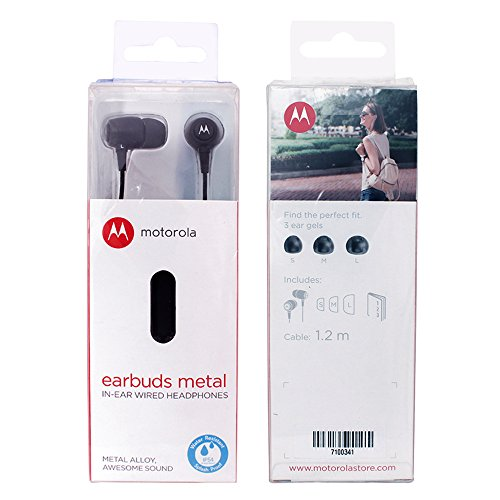 Motorola-Metal-Headphones-Black