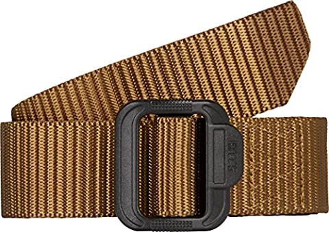 5.11 120 TDU Tactical Belt - Coyote Brown, Medium