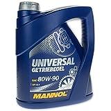 Mannol universal getriebeoel 80W de 90API GL 4, 4L)