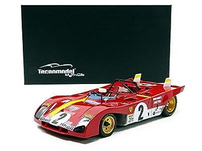 tecnomodel Mythos tm1861b Ferrari 312PB–Winner Daytona 1972–Echelle 1/18, rot/gelb von TECNOMODEL MYTHOS