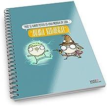 Missborderlike - Cuaderno anillas - amigas que tardan más en llegar a una cita que un paquete de aliexpress
