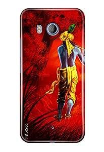 Noise HTC U11 Printed Cover For HTC U11 Case / Festivals & Occasions / Krishna Design -(GD-175)