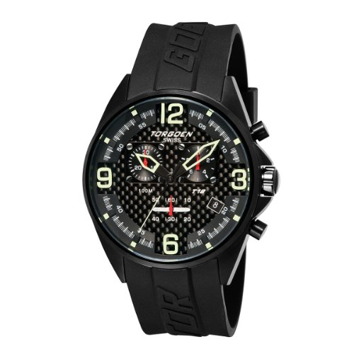 Torgoen T18302 - Cronografo da uomo