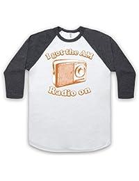 Inspired by Modern Lovers Roadrunner Unofficial 3/4 Sleeve Retro Baseball Tee