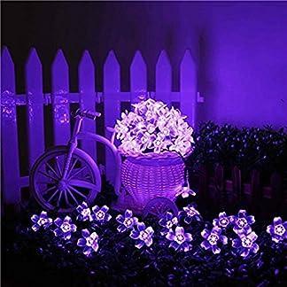 Kyson-50er-LED-Solar-Lichterkette-Blumen-Garten-Auen-Lila-5-Meter-Solar-Blten-Beleuchtung-fr-Party-Weihnachten-Outdoor-Fest-Deko-usw