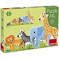 Goula Puzzles infantiles de la Selva de pequeño a grande - Peluches y Puzzles precios baratos