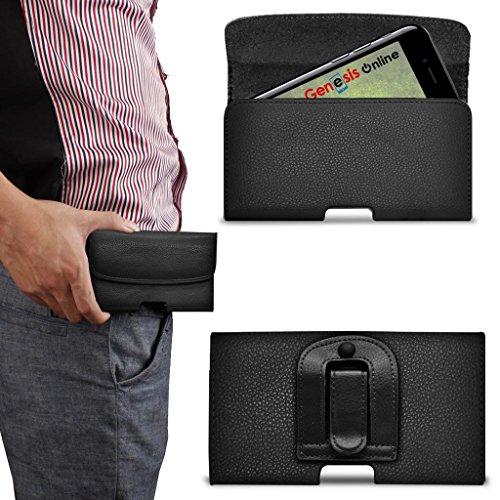 Lenovo B case Generic offerta auto porta caricatori cintura tasche casse cuffie Bluetooth altoparlanti Armband cavi dati auricolari Headset penne nero (Black) Hori Belt Lenovo B