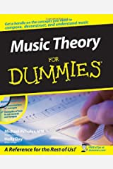 Music Theory For Dummies Paperback