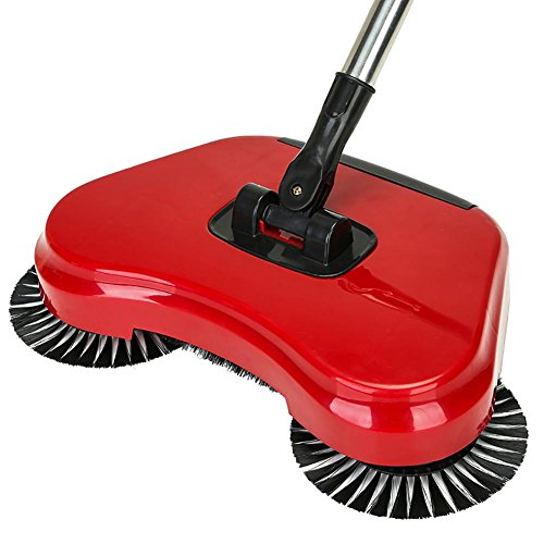 LIUSHU Broom Kehrmaschine Hand Push Home manuelle Vakuum Reinigung Besen Kehrschaufel, red (Vakuum Kommerzielle Manuelle)
