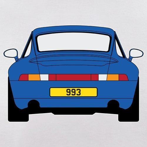 Porsche 993 Blau - Damen T-Shirt - 14 Farben Weiß