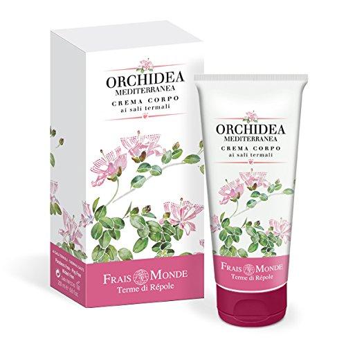 frais monde Crema corpo ai sali termali Orchidea Mediterranea 200ml