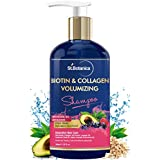 StBotanica Biotin & Collagen Volumizing Hair Shampoo - 300ml - No Sulphate, No Parabens, No Silicon