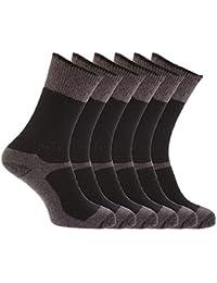 Chaussettes renforcées pour bottes de sécurité (lot de 6 paires) - Homme