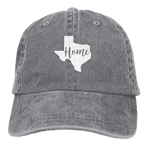 Preisvergleich Produktbild WYICPLO Home Texas State Denim Hat Adjustable Unisex Tactical Baseball Caps