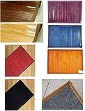 Lovely Home - Tappeto bamboo Passatoia tinta unita cm 55x140 - tappetino bagno-cucina-camera