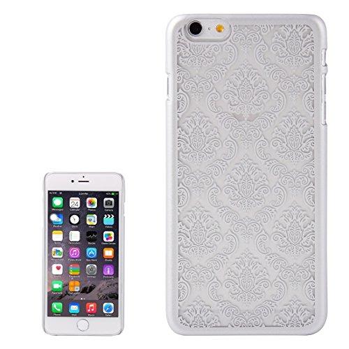 GHC Cases & Covers, Retro Palace prägeartiges Blumenmuster Schutzhülle für iPhone 6 & 6s ( Color : Purple ) Silver