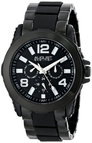 August Steiner AS8114BK - Reloj para hombres