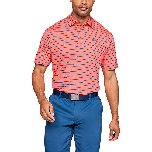 Under Armour Herren Playoff-2.0 Poloshirt, Blitz Red (652), M - Red Golf-polo-shirt