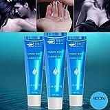 Lubricantes Sexuales clifcragrocl,30 ml Llave lubricante soluble en agua del gel de la crema del lubricante del aceite del masaje del masaje de la herramienta atractiva adulta