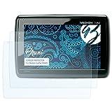 Bruni Schutzfolie für Medion Gopal P4445 Folie - 2 x glasklare Displayschutzfolie