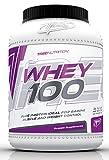Trec Nutrition Whey 100 Protein Eiweiß Molkenprotein Supplement Eiweißshake Proteinshake Bodybuilding (2275g Dose Cookies - Keks)