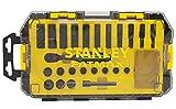 Stanley FatMax Mini-ToughBox (1/4 Zoll Steckschlüssel, 24-teiliges Set) FMHT0-74713