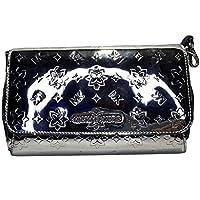Michael Kors Jet Set Item MD Convertible Pouchette Shoulder Bag (Silver)