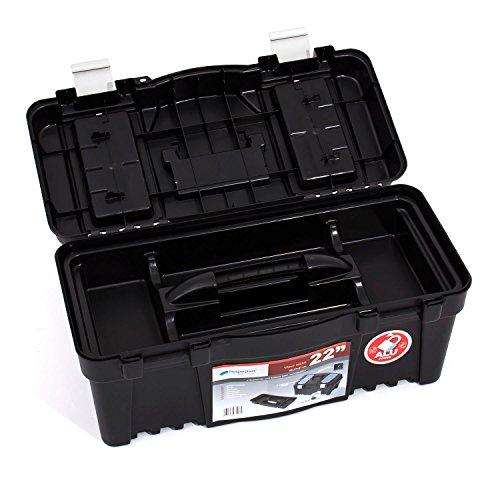 Werkzeugkoffer Werkzeug Werkzeugbox Heimwerker Metall Viper 22″ 550x267x270 mm - 5