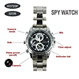 Spy Camera Mini Watch with Waterproof Sport USB 2.0 HD Video Recorder Hidden