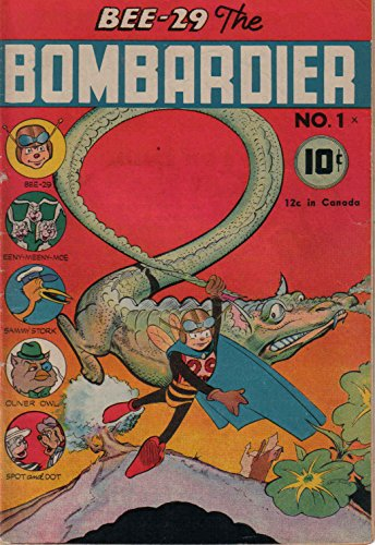 poster-comics-cover-small-publishers-bee-29-the-bombardier-1-spotlight-pub-vintage-wall-art-print-a3