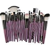 Makeup Brush Set Wakeu 25 Pieces Professional Face Eye Shadow Eyeliner Foundation Blush Lip Makeup Brushes Powder...
