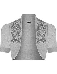 Momo la muerte-traje de neopreno para mujer de manga corta para tamaños boleros Toreras 8-14