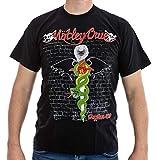 T-Shirt Mötley Crüe Nr. 2 Größe L Baumwolle beidseitig Siebdruck