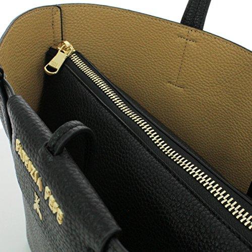 Patrizia Pepe shopping reversibile 2V5516 AV63 F1AV Matt Red/Dark Grey BLACK/BEIGE