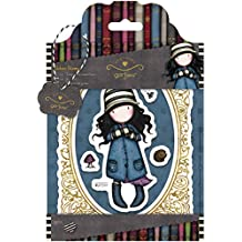 Simply Gorjuss Toadstools Urban Stamps, Pack of 5, Multi-Colour