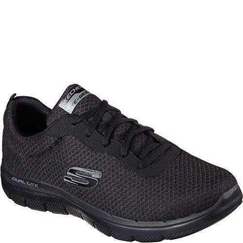 Zapatillas De Ventaja 2 flex 0 Dayshow Skechers Negro Hombre wXTFOAqxx